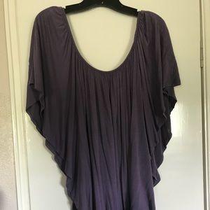 Tops - Flowing lavender top